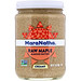 Raw Maple Almond Butter, Creamy, 12 oz (340 g) - изображение