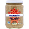 MaraNatha, Raw Maple Almond Butter, Creamy, 12 oz (340 g)