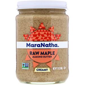 МараНата, Raw Maple Almond Butter, Creamy, 12 oz (340 g) отзывы покупателей