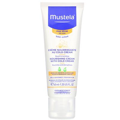 Купить Mustela Baby, Nourishing Cream with Cold Cream, 1.35 fl oz (40 ml)