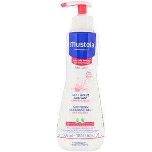 Mustela, Baby, Soothing Cleansing Gel, Very Sensitive Skin, 10.14 fl oz (300 ml) отзывы
