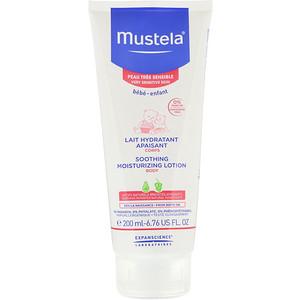 Mustela, Baby, Soothing Moisturizing Body Lotion, For Very Sensitive Skin, 6.76 fl oz (200 ml) отзывы