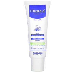 Mustela, Cradle Cap Cream, 1.35 fl oz (40 ml) отзывы