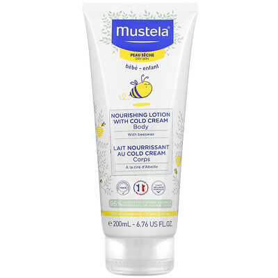 Mustela Baby, Nourishing Body Lotion with Cold Cream, For Dry Skin, 6.76 fl oz (200 ml)
