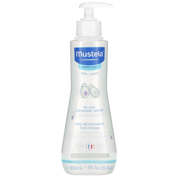 Baby, No Rinse Cleansing Water, 10.14 fl oz (300 ml)