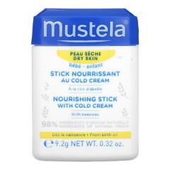 Mustela, 嬰兒,冷霜滋養棒,0.32 盎司(9.2 克)