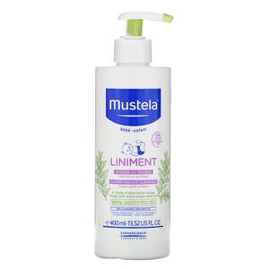 Mustela, Baby, Liniment Diaper Change Cleanser, 13.52 fl oz (400 ml) отзывы