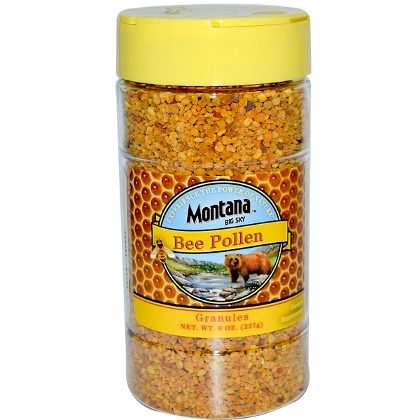 Montana Big Sky, Bee Pollen, Granules, 8 oz (227 g) (Discontinued Item)