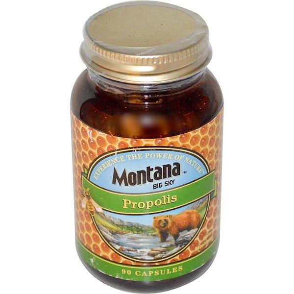 Montana Big Sky, Propolis, 90 Capsules (Discontinued Item)