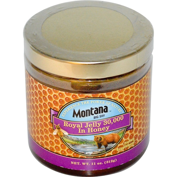 Montana Big Sky, Royal Jelly 30,000 In Honey, 11 oz (312 g) (Discontinued Item)