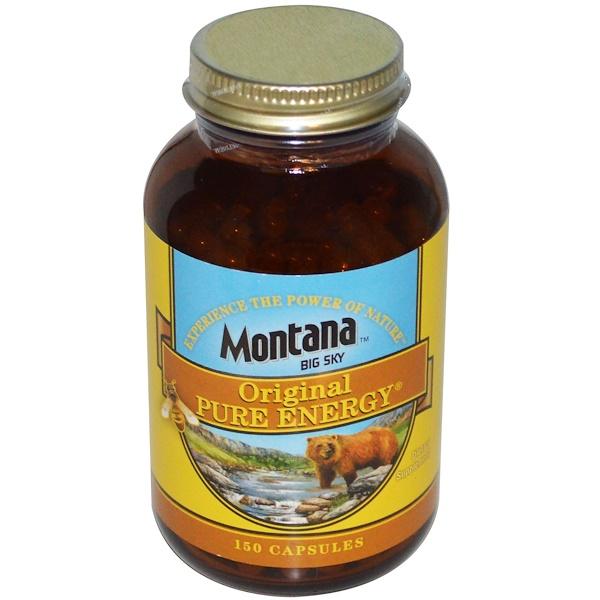 Montana Big Sky, Original Pure Energy, 150 Capsules (Discontinued Item)