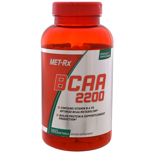 BCAA 2200, 180 Softgels