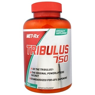 MET-Rx, تريبولوس 750، 90 كبسولات