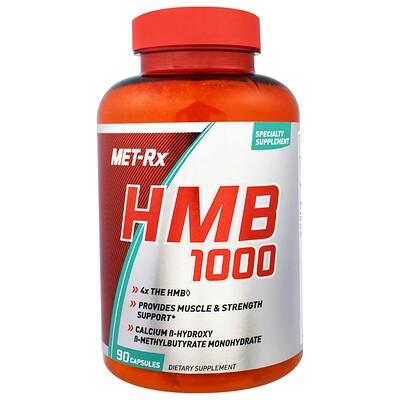 Купить MET-Rx HMB 1000, 90 капсул