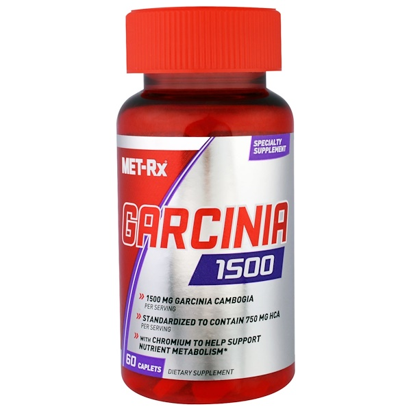 MET-Rx, Garcinia 1500, 60 Caplets (Discontinued Item)
