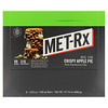 MET-Rx, Big 100, Meal Replacement Bar, Crispy Apple Pie, 9 Bars, 3.52 oz (100 g) Each