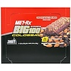 MET-Rx, Big 100 Colossal, Meal Replacement Bar, Chocolate Toasted Almond, 9 Bars, 3.52 oz (100 g) Each