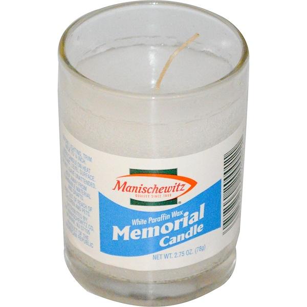 Manischewitz, Memorial Candle, 2.75 oz (78 g) (Discontinued Item)
