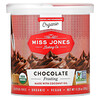 Miss Jones Baking Co, Organic Frosting, Chocolate , 11.29 oz (320 g)