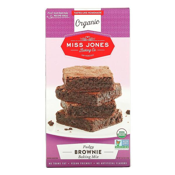 Organic Baking Mix, Brownie , 14.67 oz (416 g)