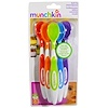Munchkin, Soft-Tip Infant Spoons, 3+ Months, Six Piece