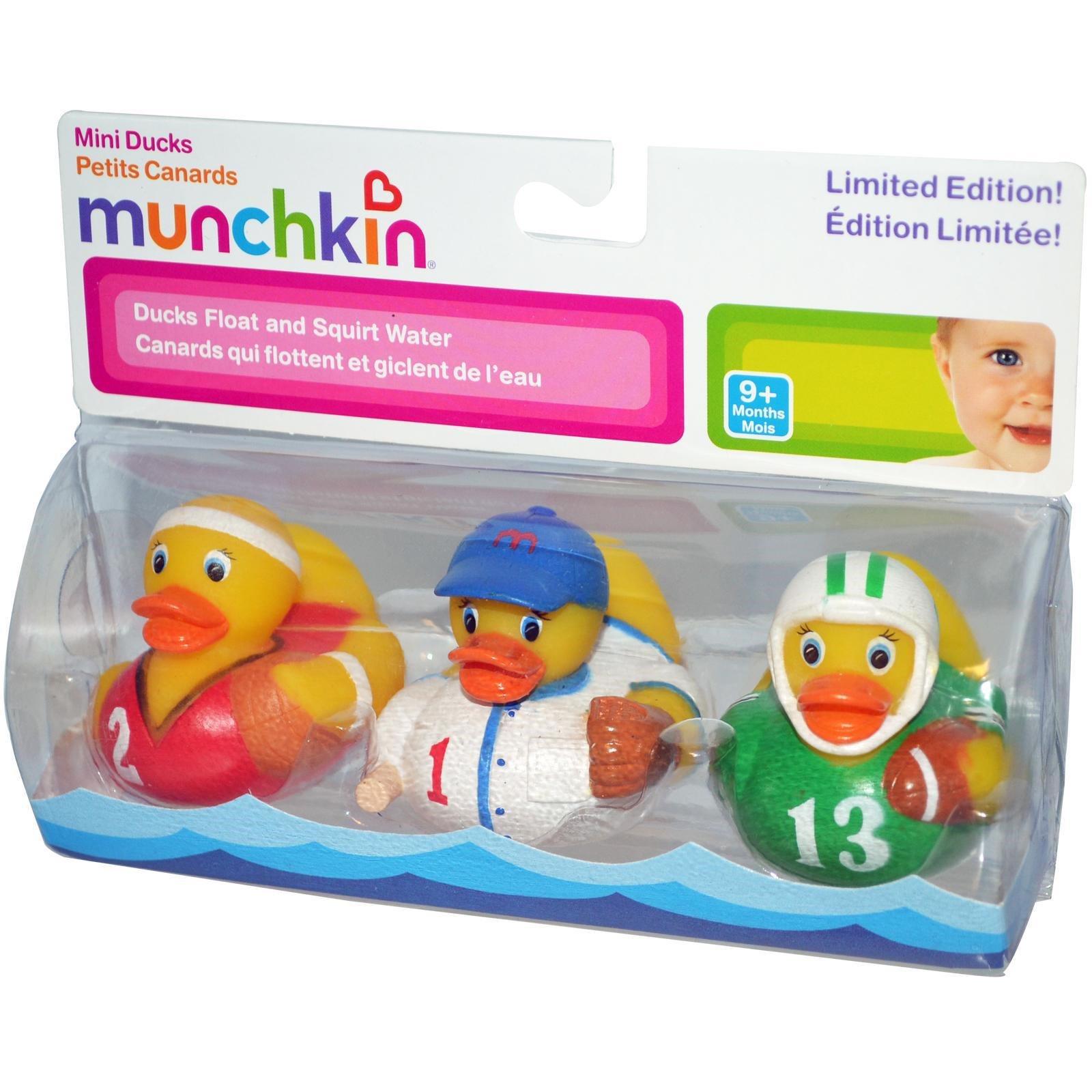 Pack de 3 petits canards Munchkin pour garçons, 9 mois, iHerb