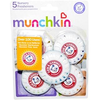 Munchkin, Arm & Hammer, Nursery Fresheners, Lavender Scent, 5 Deodorizers