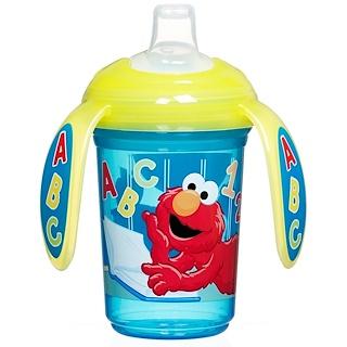 Munchkin, スピルプルーフ・トレ―カップ(幼児に飲み方を教える、こぼれないカップ)、1カップ、7オンス(207 ml)