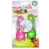 Munchkin, Food Pouch Spoon Tips, 2 Spoon Tips (Discontinued Item)