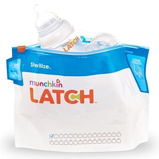 Munchkin, Latch, Sterilizer Bags, 6 Bags