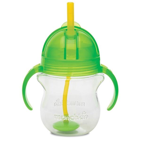 Munchkin, Weighted Flexi- Straw Cup, 6+ Months, 7 oz (207 ml)