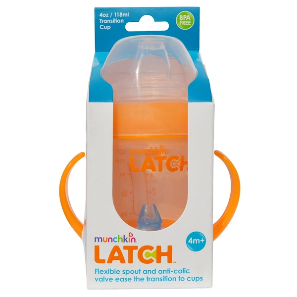 Munchkin, Latch, Transition Cup, 4 oz (118 ml) (Discontinued Item)
