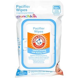 """Munchkin, """"Рука и молот"""", очищающие салфетки для сосок, 36 салфеток размером 10 см x 15 см"""