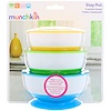 Munchkin, Stay Put Suction Bowls, 6+ Months, 3 Bowls (Discontinued Item)