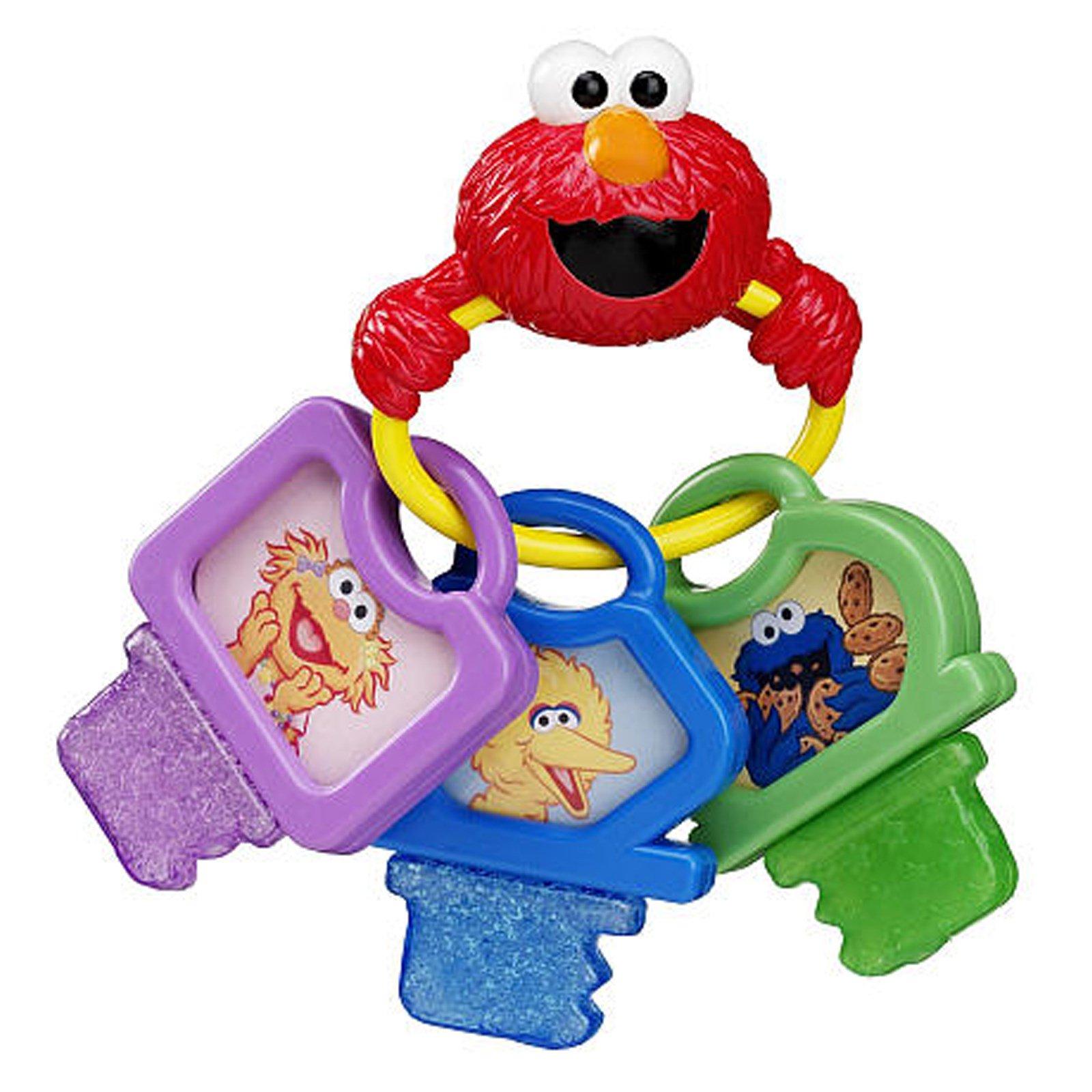 Munchkin Sesame Street y Keys Teether 6 Months iHerb