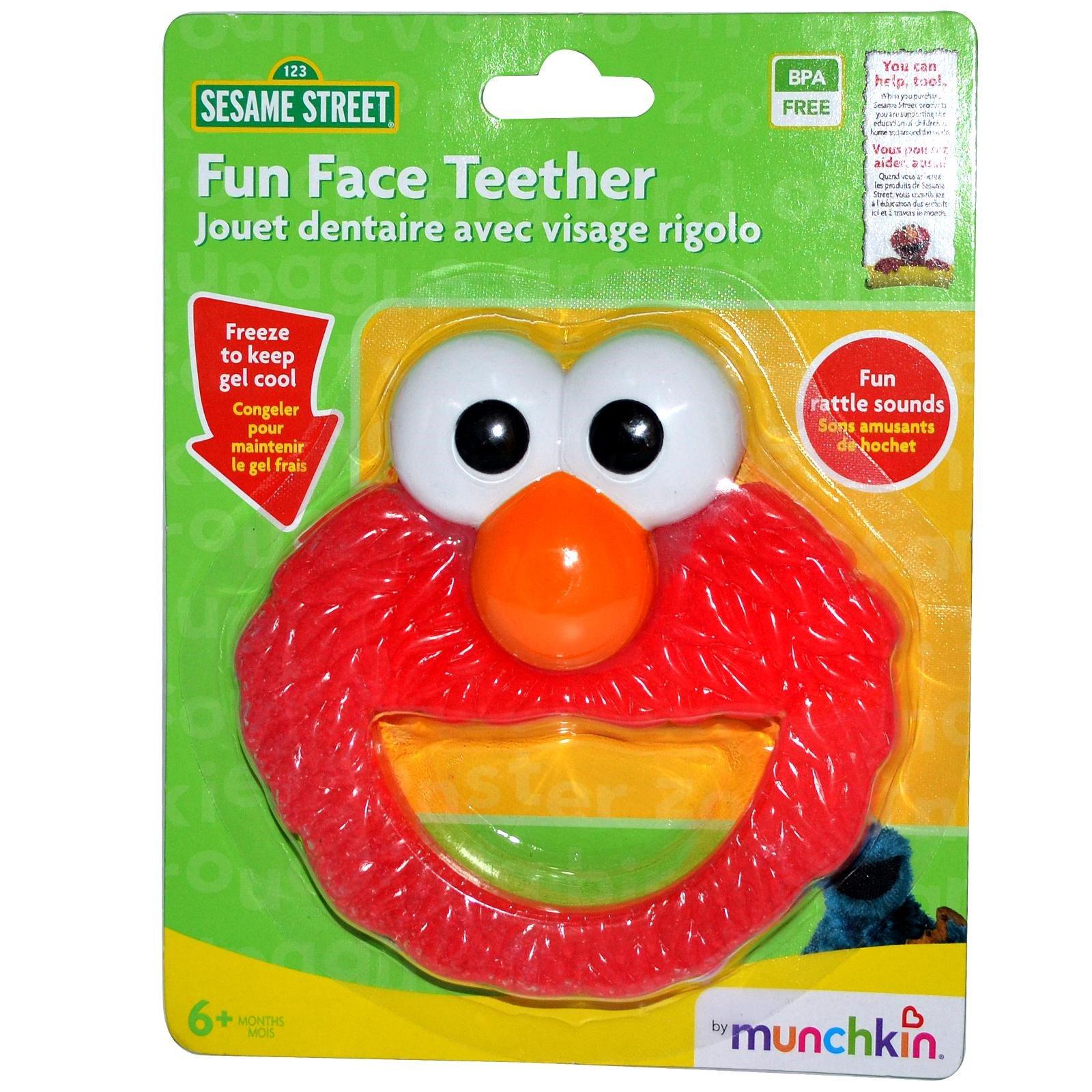 Munchkin Sesame Street Fun Face Teether iHerb