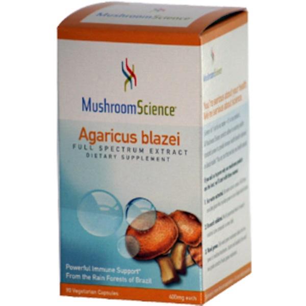 Mushroom Science, Agaricus Blazei, 400 mg Each, 90 Veggie Caps (Discontinued Item)
