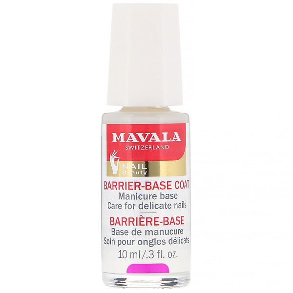 Base barrera, Base para el cuidado de uñas delicadas, 10 ml (0,3 oz. líq.)