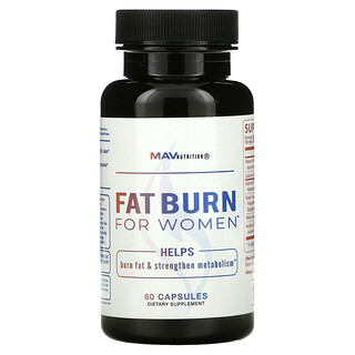 MAV Nutrition, Fat Burn For Women,  60 Capsules
