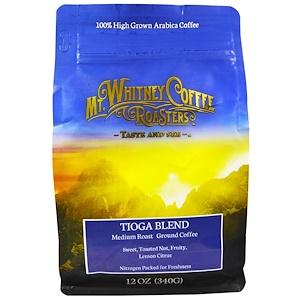 Мт Уитни Коффее Роастерс, Tioga Blend, Medium Roast Ground Coffee, 12 oz (340 g) отзывы