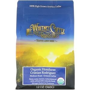Мт Уитни Коффее Роастерс, Organic Honduras Cristian Rodriguez, Ground Coffee, Medium Roast, 12 oz (340 g) отзывы
