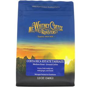 Мт Уитни Коффее Роастерс, Costa Rica Estate Tarrazu, Medium Roast, Ground Coffee, 12 oz (340 g) отзывы