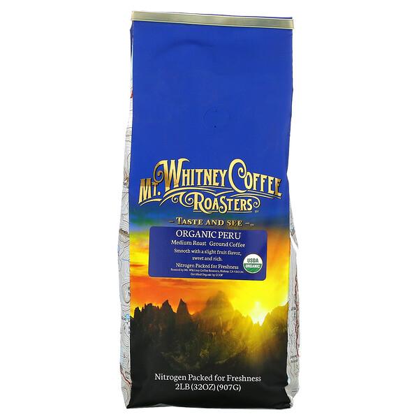 Organic Peru , Medium Roast, Ground Coffee, 32 oz (907 g)