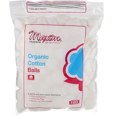 Maxim Hygiene Products 有機棉球, 100 數