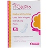 Maxim Hygiene Products, Ultra Thin Winged Extra Long Pads, Super Plus, 8 Pads