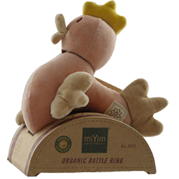 Greenpoint Brands, Rattle Ring, Chicken (Pink) (Discontinued Item)