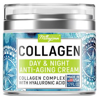 Maryann Organics, Collagen, Day & Night, Anti-Aging Cream, 1.7 fl oz