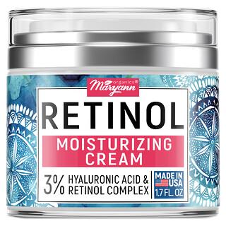 Maryann Organics, Retinol, Moisturizing Cream, 1.7 fl oz