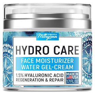 Maryann Organics, Hydro Care, Face Moisturizer Water Gel-Cream, 1.7 fl oz