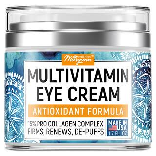 Maryann Organics, Eye Cream, Morning & Night Eye Formula, 1.7 fl oz